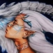 Draconys Fey ~ Original oil 12x30 $1000, 11x17 prints $25