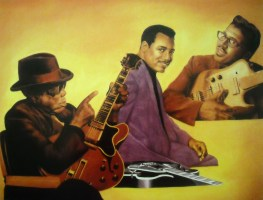 Miller Brewing Company ~ John Lee Hooker, George Benson and Bo Diddley