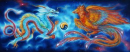 Good Fortune ~ Dragon & Phoenix