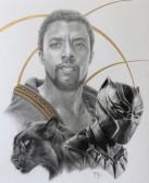 Chadwick Boseman.Black Panther