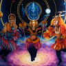 Dama Dance ~ 30x40 Original oil on display in Bronze Kingdom Museum