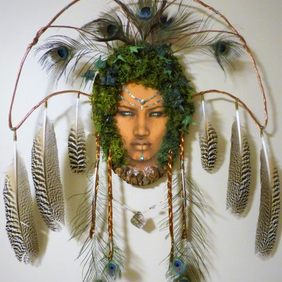 Dryad Queen ~ Mixed Media on display in Bronze Kingdom Museum